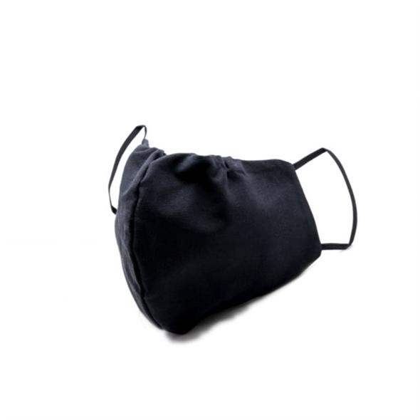 Маска тканевая(многоразовая) черная, 1 шт - фото 20990