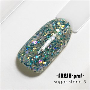 Гель Sugar stones Fresh prof №03, 5 гр