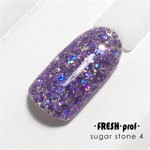 Гель Sugar stones Fresh prof №04, 5 гр