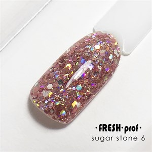 Гель Sugar stones Fresh prof №06, 5 гр