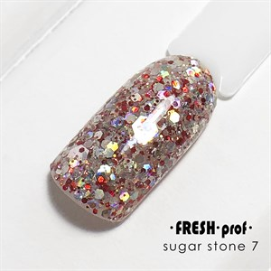 Гель Sugar stones Fresh prof №07, 5 гр