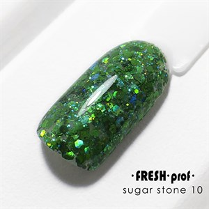 Гель Sugar stones Fresh prof №10, 5 гр