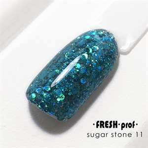 Гель Sugar stones Fresh prof №11, 5 гр