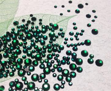 Стразы SS 4-12 зеленый//, пакет 1680 шт