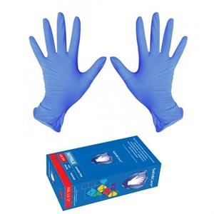 Перчатки нитриловые размер S, 100 шт