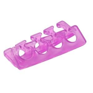 Разделитель для пальцев Jess Nail, силиконовый фиолетовый