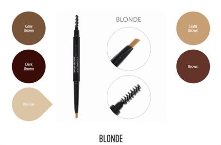 Механический карандаш для бровей со щеточкой Brow Definer (blonde) цвет русый