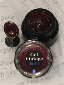 Gel Vintage Fresh prof №08, 5 гр