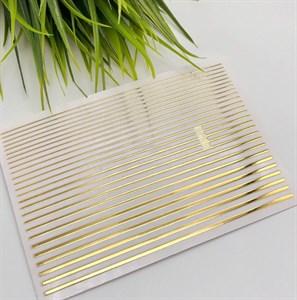 Гибкие ленты для дизайна, золото