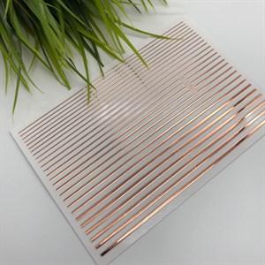 Гибкие ленты для дизайна, медь