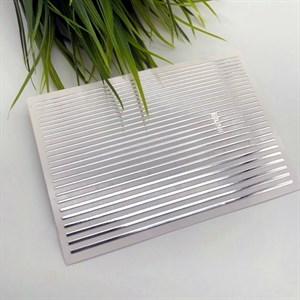 Гибкие ленты для дизайна, серебро