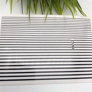 Гибкие ленты для дизайна, черные