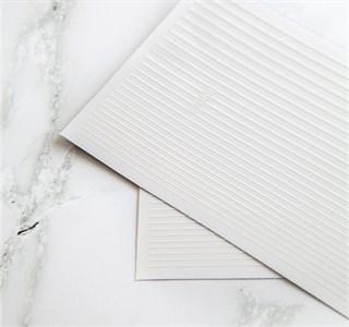 Гибкие ленты для дизайна, белые