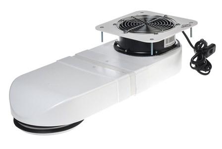 Пылесборник (встраиваемый) Cosmos Pro V1W белый (Гарантия 2 года)