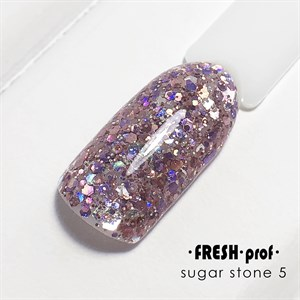 Гель Sugar stones Fresh prof №05, 5 гр