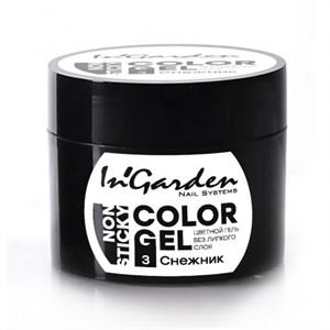 Гель-краска  InGarden  Color gel 03 Снежник, белая 5 гр