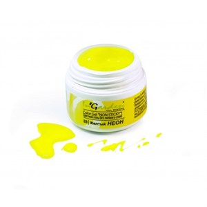 Гель-краска  InGarden  Color gel 28 Желтый (5г.)