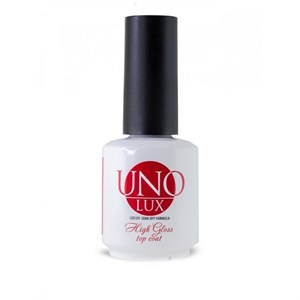 Верхнее покрытие  Uno Lux High Gloss Top Coat , 15мл.