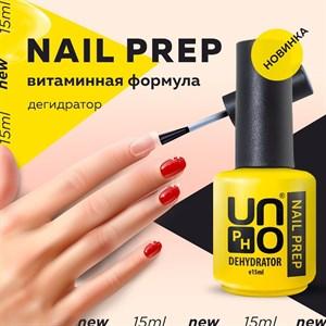 Дегидратор для ногтей Nail Prep  Uno , 15мл