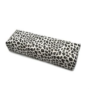 Подлокотник кожаный для рук (леопард серый)