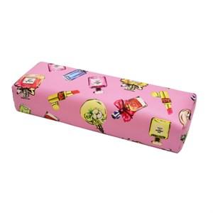 Подлокотник кожаный для рук (Парфюм розовый)