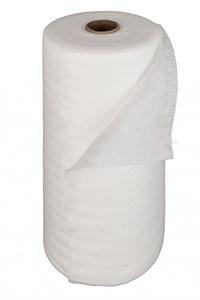 Полотенце 35*70 см спанлейс 40г/м2, белый 50 шт рулон