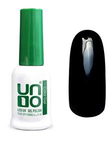 Гель-лак  Uno  - 002 Черный - Black, 8мл.