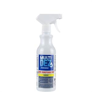 Мультидез-Тефлекс для дезинфекции поверхностей с отдушкой ЛИМОН (триггер) 0,5л