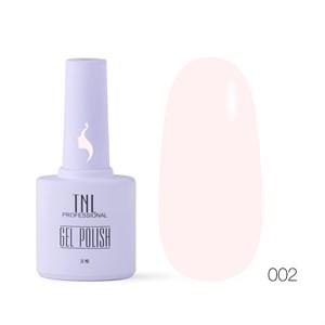 Гель-лак TNL 8 Чувств №002 - светло-розовый (10 мл.)