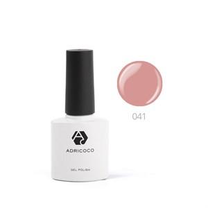 Гель-лак ADRICOCO №041 розовая карамель (8 мл.)