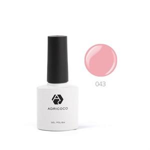 Гель-лак ADRICOCO №043 королевский розовый (8 мл.)
