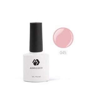 Гель-лак ADRICOCO №045 дымчато-розовый (8 мл.)