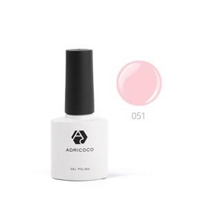 Гель-лак ADRICOCO №051 розовое парфе (8 мл.)