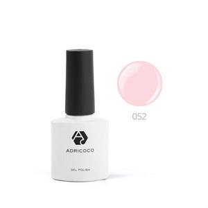 Гель-лак ADRICOCO №052 жемчужно-розовый (8 мл.)