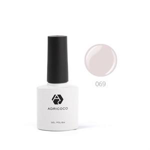 Гель-лак ADRICOCO №069 светло-серый (8 мл.)