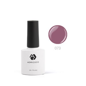 Гель-лак ADRICOCO №073 дымчато-пурпурный (8 мл.)