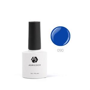 Гель-лак ADRICOCO №090 ярко-синий (8 мл.)