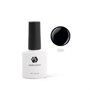 Гель-лак ADRICOCO №099 черный (8 мл.)
