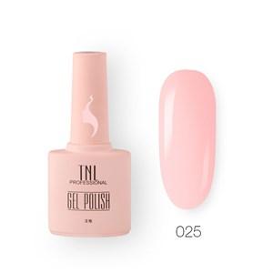 Гель-лак TNL 8 Чувств №025 - пастельно-розовый (10 мл.)