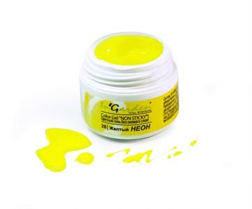 Гель-краска  InGarden  Color gel 28 Желтый неон (5г.)