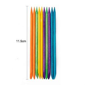 Апельсиновая палочка 11.5 см разноцвет, 10 шт