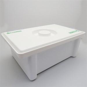 Емкость-контейнер для дезинфекции ЕДПО-1-02 р.23*15*8,5 см, 1,6 л
