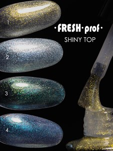 Топ для гель лака Fresh Prof Shiny Top №02, 8 мл