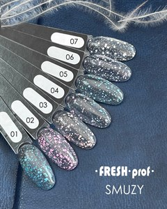 Топ для гель лака Fresh Prof Smuzy Top №3, 8 мл