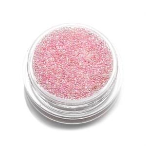 Бульонки стеклянные TNL розовая карамель, 3 гр